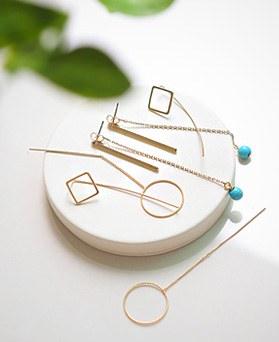 1044709 - <ER1063_CB08> [6Piece 1set] Elin series earrings