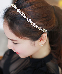 233348 - <HA243-EE05> [Ver pearl.] Rania bubble stone hairband