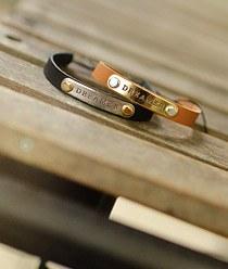 237150 - <BC250-s> Dreamer leather bracelet