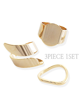 1043922 - <RI492-JD23> [MBC sponsored marriage contract] [3Piece 1set] most ring