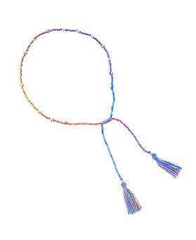 1044662 - <BC582_HC14> [Silver] pick me tassel bracelet