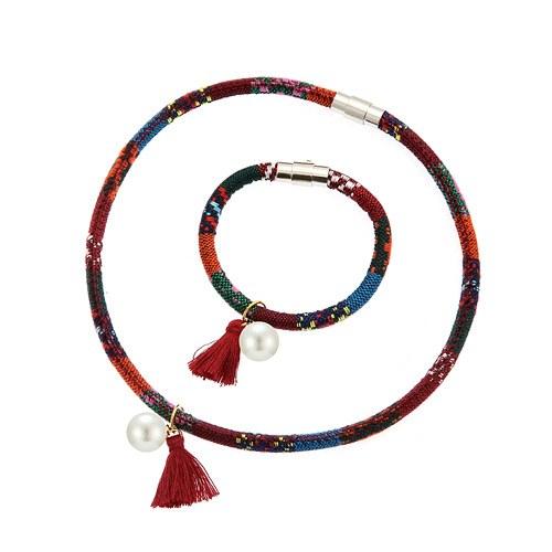 1045017 - <JS230_IF17> [Necklace + bracelet] ethnic lonely set