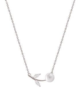 1044527 - <NE319_BD06> [Silver] emilia necklace