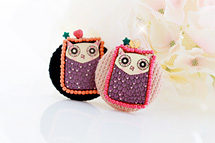 229720 - <FI012-FH04> Fairy tale owl brooch
