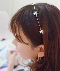 233041 - <HA139-EA02> May Flower hairband