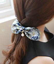 233467 - <HA222-S_H1> [Same day] [pin & ponytail] Nature chiffon Hair Item