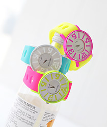 236882 - <WC066-S> Staccato First jelly watches-S