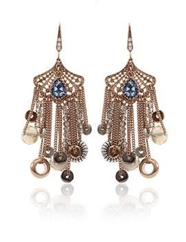887142 - <ER665-DC08> [Handmade] [Silver Post] extension earrings