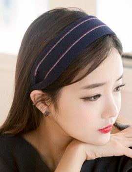 1043940 - <HA422-h8> Stripe Wool hairband-S