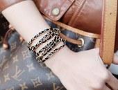 221268 - [SALE] Barry Earth Leather bracelet