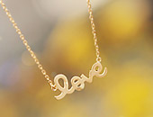 221372 - <SL173-BD02> [Queen of the Inversions Hwang Tae-hee] [Silver] pastel love necklace