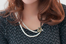 229939 - <JS062-IF03> Diana pearl necklace