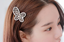 230018 - <HA073-H3> Susan butterfly hairpin