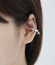 231695 - <EC023-CC16> [Singular sale] modern cubic ring ear curler