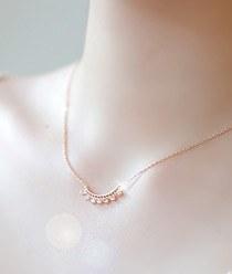 231808 - <JS089-IG15> delicacies two-way necklace
