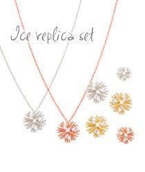 233086 - <JS043-IG18> [Silver Post] ice replica set