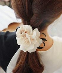 233436 - <HA061-h6> Biennale Flower ponytail