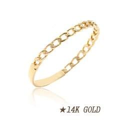237179 - <K14J037-GH20> [14K Gold] Mini twisted ring