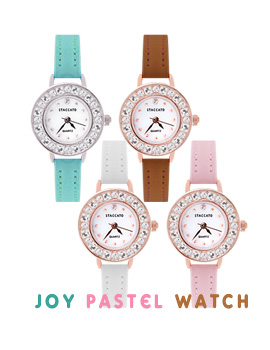 1043526 - <WC086-BE10> joy pastel watches