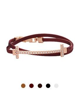 1044064 - <BC472_HC06> Crew leather bracelet