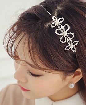 1044273 - <HA455_FF00> Picnic pearl hairband