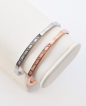 1044430 - <BC524_HF24> [Same day shipping] [Stainless steel] Stephanie steel bracelet