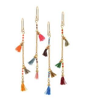 1044679 - <ER1048_S> [spring] sweet tassel earrings