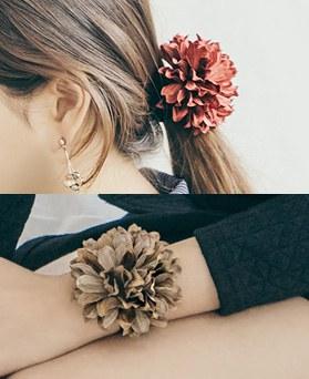1044943 - <HA499_FI04> [handmade] bender Flower ponytail