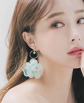 1045876 - <ER1380_S> Flower Earrings