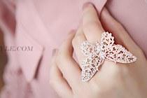 225954 - <RI109-JB24> romantic holiday ring