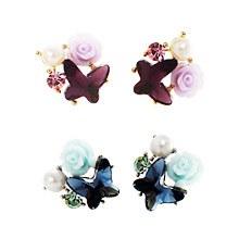 227525 - <ER397-DD11> April garden earrings