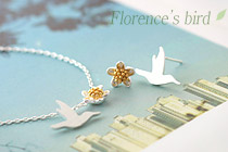 228063 - <JS008-ID01> [Silver Post] Florence bird set