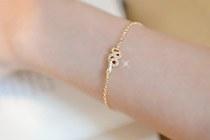 229137 - <BC058-HD21> Forever snake bracelet