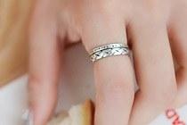 229142 - <RI737_AE10> [Silver] Melody ring