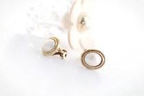229189 - <PC079-CF18> [clip type] Premier pearl earrings