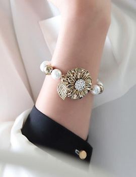 229217 - <JS054-IG00> Bobos antique pearl bracelet