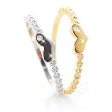 230007 - <RI141-JA03> [little finger for both] sweet heart ring
