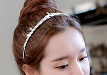 230204 - <HA227-H8> [Out of stock imminent] charlotte princess hairband
