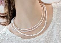 230243 - <NE054-BB16> Pearl necklace