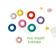 230644 - <ER379-GL21/GL25> [Anti-allergy special production needle] Mini donut earrings
