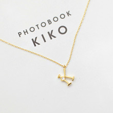 230824 - <SL342-S> [SOLD OUT imminent] [Silver] alphabet initial necklace