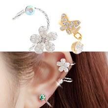 231436 - <EC055-CD12/13> Flower & butterfly Earcup