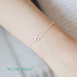 231575 - <SL035-S> [Sold out] [Silver] once a star bracelet