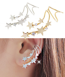 231602 - <EC026-CE05> galaxy drop ear cuff