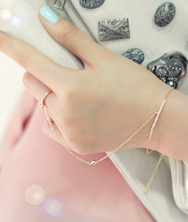 231711 - <BC009-S> [Same day shipping] [Ver.03] [Annoying Ian] I shine slim ring & bracelet