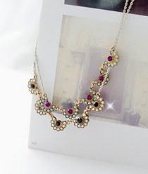 231767 - <JS022-IH01> Swarovski Marseille necklace