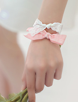 231876 - <BC185A-S> [Same day delivery] [Tae gongsil of the lord] elastic tie bracelet-S