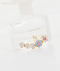 231918 - <EC045-CC10> Flower swing ear cuff