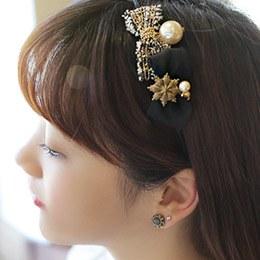 232098 - <HA121-EB08> [pin & band] ribbon Coco Hair Item