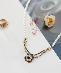 232186 - <JS057-S> [Immediate out of stock] Lady's imagination necklace